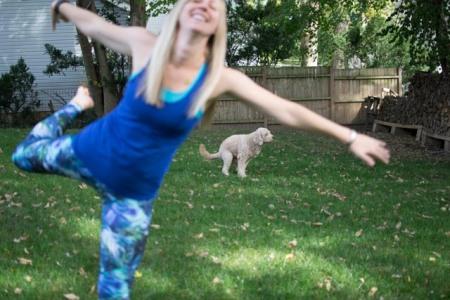Inspirational yoga